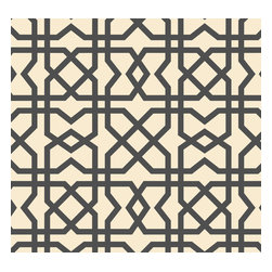 Removable Wallpaper-Geometric-Peel & Stick Self Adhesive, 24x120 - Couture WallSkins.  Your wall will love you for this.