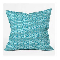 """DENY Designs - Khristian A Howell Desert Daydreams 11 Throw Pillow - Wanna transform a serious room into a fun, inviting space? Looking to complete a room full of solids with a unique print? Need to add a pop of color to your dull, lackluster space? Accomplish all of the above with one simple, yet powerful home accessory we like to call the DENY Throw Pillow! Features: -Khristian A Howell collection. -Top and back color: Print. -Material: Woven polyester. -Sealed closure. -Spot treatment with mild detergent. -Made in the USA. -Closure: Concealed zipper with bun insert. -Small dimensions: 16"""" H x 16"""" W x 4"""" D, 3 lbs. -Medium dimensions: 18"""" H x 18"""" W x 5"""" D, 3 lbs. -Large dimensions: 20"""" H x 20"""" W x 6"""" D, 3 lbs."""