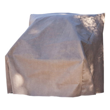 """Duck Covers 40""""W Patio Chair Cover with Inflatable Airbag - Patio Chair Cover Actual Size - 40"""" W x 40"""" D x 36"""" H"""
