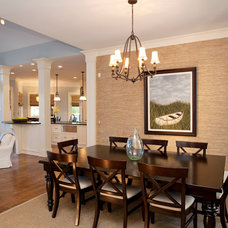 Traditional Dining Room by Michelle Tumlin Design