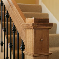 Craftsman Staircase by Copper Creek, LLC