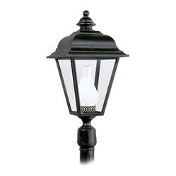 Sea Gull Lighting 8216-12 Bancroft Black Outdoor Post Light