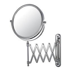 Kimball & Young Aptations Mirror Image 233 Series Extension Arm Wall Mirror 2334 - 1x / 5x Magnification