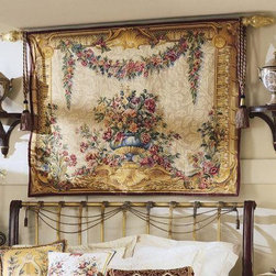EuroLux Home - New 57x44 Tapestry Garlands of Flowers - Product Details