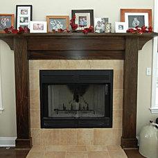 Craftsman Family Room by Macik Custom Woodworking & Contracting, LLC