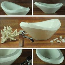 Modern Bathroom Sinks by Porto designs