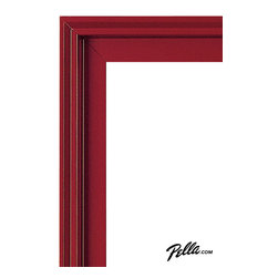 EnduraClad® Exterior Finish in Brick Red - Available on Pella Architect Series® and Designer Series® wood windows and patio doors, EnduraClad exterior finishes offer 27 standard and virtually unlimited custom color options.