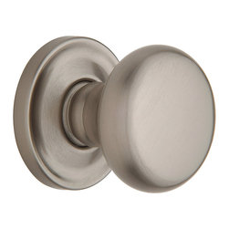 Baldwin Hardware - Baldwin Estate 5015 Classic  Door Knob Set - Passage  - Polished Chrome - 5015 Product Details: