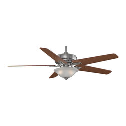 """Fanimation - Fanimation FPD8088PW Keistone Pewter 60"""" Ceiling Fan + Remote Control - Features:"""