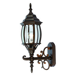 Rust Outdoor Patio and Porch Exterior Light Fixture - Finish: Rust