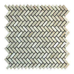 STONE TILE US - Stonetileus 10 pieces (10 Sq.ft) of Hering Bone Botticino -Tumbled - Hering Bone - Botticino -Tumbled Specifications: Coverage: 1 Sq.ft size:  - 1 Sq.ft/Sheet Sheet mount:Meshed back Stone tiles have natural variations therefore color may vary between tiles. This tile contains mixture of white - light brown - dark brown - and color movement expectation of low variation, The beauty of this natural stone Mosaic comes with the convenience of high quality and easy installation advantage. This tile has Tumbled surface, and this makes them ideal for walls, kitchen, bathroom, outdoor, Sheets are curved on all four sides, allowing them to fit together to produce a seamless surface area. Recommended use: Indoor - Outdoor - High traffic - Low traffic - Recommended areas: Hering Bone - Botticino -Tumbled tile ideal for walls, kitchen, bathroom,Free shipping.. Set of 10 pieces, Covers 10 sq.ft.