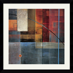 Amanti Art - Theory in Color Framed Print by Darian Chase - With its jewel-like iridescent tones, this framed print by Darian Chase will add a rich polish to your decor space.