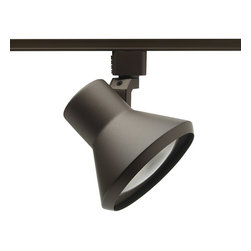 Juno Lighting - Trac-Lites R552 PAR30 Flared Step Track Light, R552bz - Trac-Lites PAR30 Flared Step Track Light has a compact and contemporary appearance which is dynamically achieved with tight-to-the-trac design. The enclosed lamp design entirely hides the lamp from view. Front relamping is a key feature of the Flared Step Series.