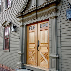 Traditional Front Doors by Classic Colonial Homes, Inc.