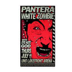 Art of Modern Rock Gig Posters -