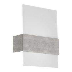 EGLO - Eglo 86995A Matte Nickel 1X100W Wall/Ceiling Light - EGLO 86995A Matte Nickel 1x100W Wall/Ceiling Light