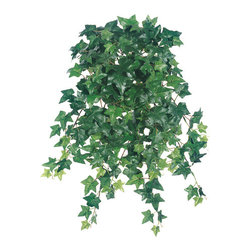 Silk Plants Direct - Silk Plants Direct Sage Ivy Hanging Plant Bush (Pack of 12) - Silk Plants Direct specializes in manufacturing, design and supply of the most life-like, premium quality artificial plants, trees, flowers, arrangements, topiaries and containers for home, office and commercial use. Our Sage Ivy Hanging Plant Bush includes the following:
