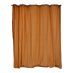 RoomDividersNow - Room Divider Fabric Curtain, Wheat, 8'x15' - - RoomDividersNow is the premier supplier of fabric style room dividers on the market today.  Our curtain room dividers are economically priced and provide customers with a great way to divide a room, create privacy or just hide clutter.
