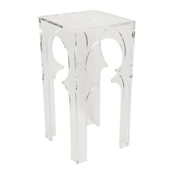 NOIR - NOIR Furniture - Moroccan Side Table - GTAB629 - Features: