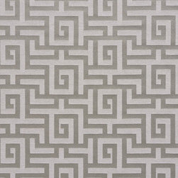 Silver Grey Shiny Geometric Luxurious Faux Silk Upholstery Fabric By The Yard - This upholstery fabric feels and looks like silk, but is more durable and easier to maintain. This fabric will look great when used for upholstery, window treatments or bedding. This material is sure to standout in any space!