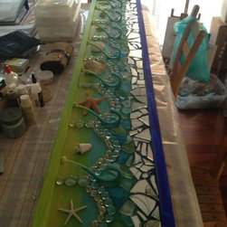 Custom Coat Rack/ Towel rack  Mosaic - Elly Ehrnst