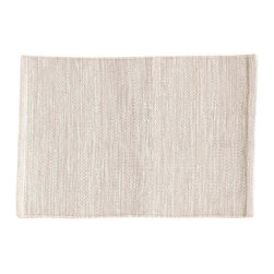 """Pine Cone Hill - PCH Mingled Platinum Placemat Set of 4 - Perk up the table with the versatile Mingled placemats in platinum gray by PCH. Designed for indoor and outdoor use, layer these easy-care table mats with other colors and patterns to create a variety of looks. 20""""H x 14""""W; Set of 4; 100% polypropylene; Designed by Pine Cone Hill, an Annie Selke company; Machine wash, line dry"""
