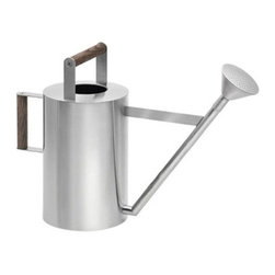 Blomus - VERDO Watering Can, Large - Your garden needs a lot of care and attention - so having gardening tools that help you keep your garden happy is essential. The VERDO Watering Can was designed by Floz for Blomus, and features a beautiful combo of stainless steel and hardwood for an unforgettably modern, yet nostalgic piece.