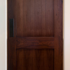 contemporary interior doors by Magleby Construction