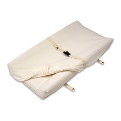 "Naturepedic - Naturepedic Organic Cotton Changing Pad Cover - Fits 2 Sided, Natural - CH61 - Naturepedic Organic Cotton Changing Pad Cover (16.5"" x 33"") - Fits 2 Sided"