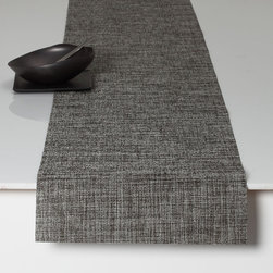 Chilewich - Chilewich Boucle Runner - Chilewich - Bouclé features a very rich texture that provides visual interest, without exhibiting too dominating a pattern. The original concept for the design was the desire to interpret the luxury of fine knitwear into a woven textile that was durable and modern. All Chilewich products, including modern table mats and contemporary placemat designs, are hardwearing and easy to clean. Indoor/outdoor use. Made in USA.