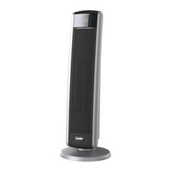 Lasko Products - Digital Ceramic Tower Heater - Lasko Digital Ceramic Tower Heater with Electronic Remote Control with Digital Display.  Electronic remote with digital display panel.  2 quiet comfort settings: high heat, low heat.  Auto electronic remote with digital display panel.  Programmable thermostat and 8-hour timer.  Built-in safety features: safe ceramic element overheat protection.  Digital controls.  Programmable thermostat .  8-hour timer .  Widespread oscillation 1500 watts of comforting warmth.  2 quiet settings.  (thermostat controlled) Easy-carry handle and on-board remote storage - ETL listed.