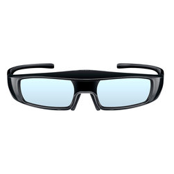 Panasonic - 3D Active Shutter Glasses, USB Rechargeable, RF Compatible - Features: