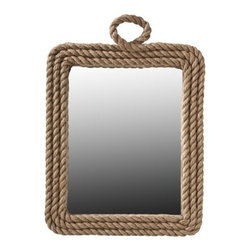 Nate Berkus Port Mirror - Every time I see this mirror (even in photos), I just want to run my hand over it. It's all about texture, texture, texture! Don't be afraid to mix and match tactile accessories to create your ideal look. The more (thoughtfully) eclectic your space, the more your guests will think your room was styled by a designer.
