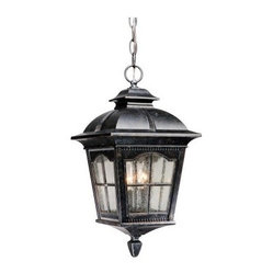 Vaxcel Arcadia Outdoor Pendant Light - 9W in. Burnished Patina - We may be past the time of carriages, and you may be fresh out of buggy whips, but the timeless style of a glowing lantern is something that the Vaxcel Arcadia Outdoor Pendant Light - 9W in. Burnished Patina can easily bring to your home or office. This metal-bodied fixture has a patina finish and seeded glass that work together to give it the look of a well-loved antique. Two feet of hanging chain and nine feet of lead wire give you the option to suspend this pendent wherever it suits you best.About Vaxcel LightingFor over 20 years, Vaxcel International has been a premier supplier of residential lighting products. Based in Carol Steam, Ill., Vaxcel's product line is composed of more than 2,000 items, ranging from builder-ready fixtures and ceiling fans to designer chandeliers and lamps, in the latest styles and finishes. They're known in the industry for offering a full selection of products at competitive prices.