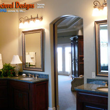 Traditional Bathroom by Architectural Designs