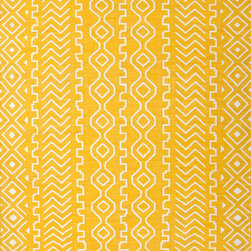 Jaipur Rugs - Flat-Weave Tribal Pattern Wool Yellow/Ivory Area Rug (2 x 3) - A range of beautifully designed flatweaves in a stunning color palette. Hand woven from 100% wool ach rug has its own personality and is versatile and easy to use.