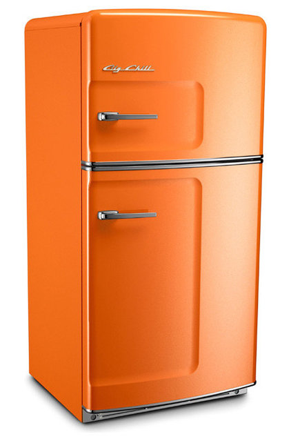 eclectic refrigerators and freezers Bill Chill Retro Refrigerator