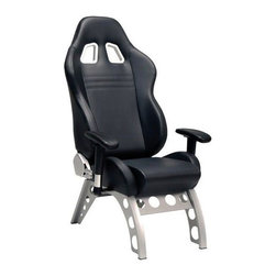 PitStop GT Receiver Chair - When it's time for a pit stop, only a chair this awesome will do.