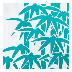 Blancho Bedding - Green Bamboo - Self-Adhesive Printed Window Film Home Decor Roll - Decorative window film provides the look of stained glass, creating a very high-end look. Provides privacy yet allow natural light to enter the room. It can be trimmed to fit any custom size window. Each roll features an easy-to-peel liner and an adhesive that allows it to be repositioned during installation without leaving a sticky residue. Tough, durable and repels stains. Wipes clean easily. Ideal for specialty windows: sidelights, transoms, arches. This window film is a perfect gift for friend or family who enjoy decorating their homes.