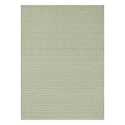 Loloi Rugs - Loloi Rugs TERRTE-05JD002339 Terra Jade Contemporary Indoor / Outdoor Rug - Bring all the indoor appeal of a flat weave - the durability, the versatility, and the texture- to your outdoor space with our Terra Collection. Hand woven in India, Terra comes in great colors like sage, steel, and graphite made to match with today's indoor and outdoor furnishings. And because Terra is made with 100% polypropylene, it can withstand regular sunshine and rain.