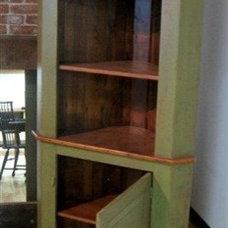 Farmhouse Storage Units And Cabinets by ECustomFinishes