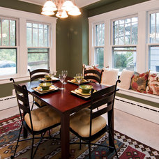 Traditional Dining Room by Home Preppers