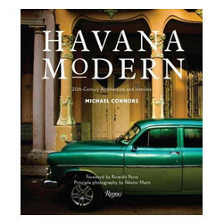"Rizzoli International Publications - ""Havana Modern: 20th-Century Architecture and Interiors"" Hardcover - A revealing collection of astonishingly fresh and undiscovered midcentury architecture and interiors in Havana. Caribbean design expert and historian Michael Connors leads the reader on an unprecedented tour in Havana of the stunning and architecturally important private homes and buildings that have been meticulously preserved, previously unphotographed, and mostly inaccessible to visitors. This lavish book represents the modern movement in Cuban architecture, from art nouveau and art deco to the flowering of high modernism just before the Revolution, spanning from the early 1900s to 1965. At a time when travelers are rediscovering Cuba, this volume offers a range of the city's twentieth-century cultural achievements. The photographs, shot exclusively for the book, show examples from the artsy Vedado neighborhood, the seaside streets of Miramar, Central Havana, and Havana's posh Country Club Park area. Included are iconic places such as Cuba's remarkably futuristic National Schools of Art; the art deco landmark Bacardi building; Casa de Alfred von Schulthess by Richard Neutra; the stylish Habana Riviera Hotel, and its original 1957 interiors; the Hotel Nacional de Cuba designed by McKim, Mead & White, on Havana's seaside drive the Malecón; and the world-famous Tropicana cabaret nightclub by architect Max Borges. Havana Modern is a pioneering book of modern design that shows a corner of the world where modern architecture thrived and has been carefully preserved."