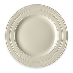 Wedgwood - Wedgwood Jasper Conran Casual Cream 10 3/4-Inch Dinner Plate - Casual dinnerware by Jasper Conran is a marriage of the very best of classic English design with elements of informal dining. These clean, simple, timeless pieces have the traditional elegance of Wedgwood, while having the naturalness of earthenware.