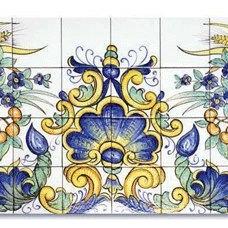 Mediterranean Tile by ITALIAN DECORATIVE ART by Romeo Cuomo