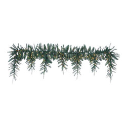 Silk Plants Direct - Silk Plants Direct Pine Icicle Garland (Pack of 1) - Silk Plants Direct specializes in manufacturing, design and supply of the most life-like, premium quality artificial plants, trees, flowers, arrangements, topiaries and containers for home, office and commercial use. Our Pine Icicle Garland includes the following: