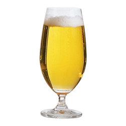 Ten Strawberry Street - Regina-Clear 12 oz. Glass Stemmed Beer Goblet - Set of 6 - Set of 6. Made of glass. Dishwasher safe. Imported. Capacity: 12 oz.. 5.95 lbs.