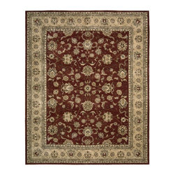 Nourison - Nourison Nourison 2000 Brick Area Rug - Redefine luxury with Nourisons most popular handmade signature collection featuring Persian and European traditional designs. The dense pile splendid patterns deeply compelling textures and intriguing aesthetics are certain to command immediate attention in any setting.