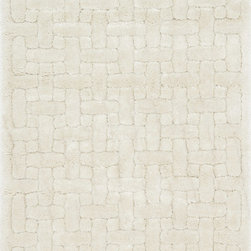 "Loloi Rugs - Loloi Rugs Dream Shag Collection - Ivory, 3'-9"" x 5'-6"" - Quite possibly one of the thickest shags available, Dream Shag is designed to add supreme comfort to the look and feel of any home. The pile consists of thick twisted polypropylene yarns that measure 1.5 inches in length and are densely packed. The result is a shag that's plush, thick, and comfortable. And since it's made in Egypt using power looms, any Dream Shag you order is made with precise design and pile height accuracy."