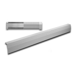 Vent and Cover - Baseboard Heater Cover 6ft length - This is the big mama of baseboard heater cover panels. When you need to cover a long run in your hallway, livingroom, dining room or bedroom the 6ft baseboard cover panel is the way to go. Our perforated galvanized steel design ensures that your child's safety is our major priority while delivering a modern and sleek look that your friends and neighbours will definitely notice.